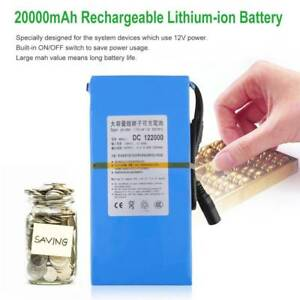 Portable-DC-12-V-20000-mAh-Li-ion-Super-Rechargeable-Battery-US-Plug-AU-UK-EU