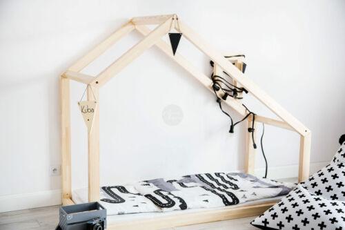 domek Talo D3 Drewniane łóżko dziecięce