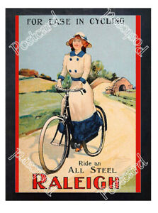 Historic-Raleigh-Bicycle-1910s-Advertising-Postcard
