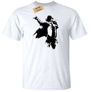 Useful Bambini Ragazzi Ragazze Michael Jackson Silhouette T-shirt King Of Pop Tribute T-shirt, Maglie E Camicie
