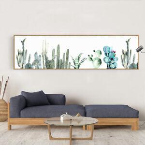 Catcus Plant Art Oversized Wall Decor