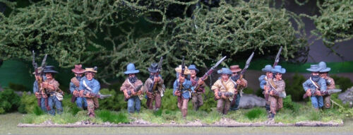 28mm American Civil War Advancing/Charging options available.