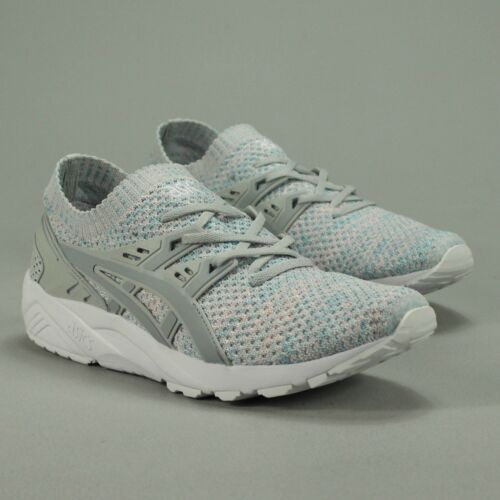 Glacier In – New Uk 7 Grey Mid Knit Kayano Gel Shoes Asics 10 8 Size Box SXazq