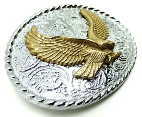 Eagle Belt Buckle American Western Rodeo Themed Authentic Baron Buckles Product