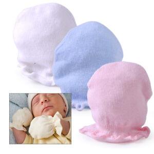 dd2b6a70f7e nouveau-né Bébé gants en coton doux Garçon fille Mitaines anti ...