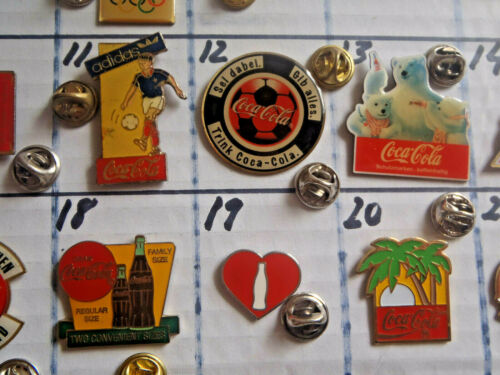 Pin Coca Cola Drink born to refresh since 1886 badge girl disney PLEASE READ