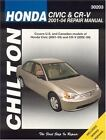 Chilton's Total Car Care: Honda Civic and CRV, 2001-2004 by Chilton Automotive Editorial Staff and Larry Warren (2005, Paperback)