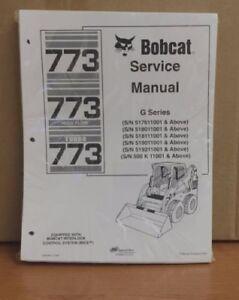 Software Bobcat 773 G Series Skid Steer Complete Shop Service ...