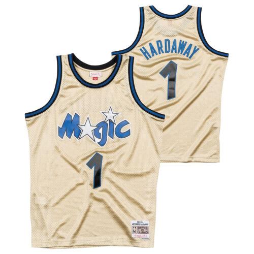 di Swingman Penny in Orlando Hardaway Magic Gold jersey Magic Camicia Gold AO7qEY