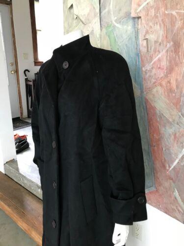 pour Laine Noire Perry Ellis en Moyen Portfolio Manteau 6 Femme Sz Peacoat FqHC6pC