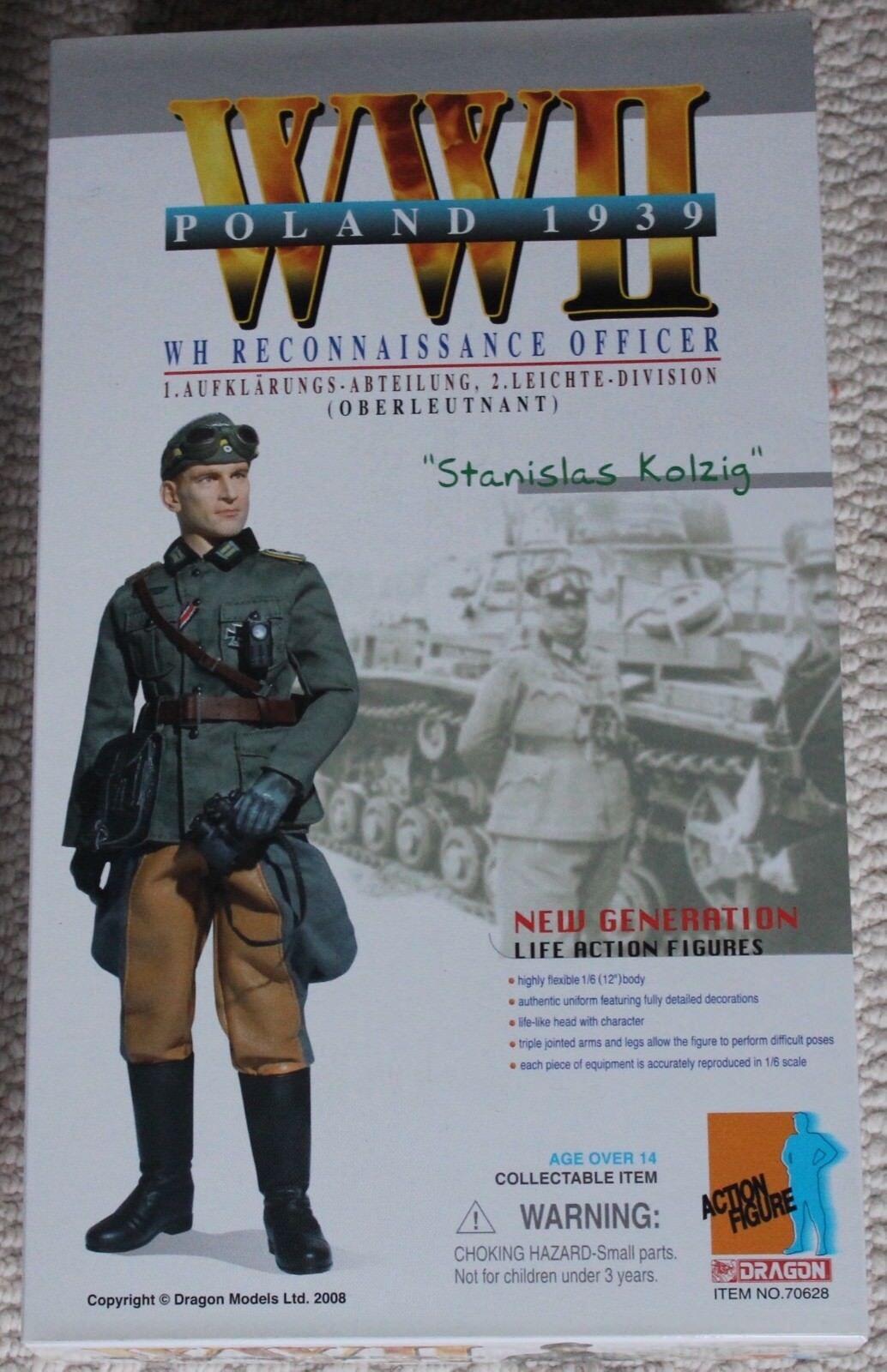 Dragon azione cifra 1 6 ww11 12  in  scatola tedesco Stanislas ha fatto Cyber caliente giocattolo  punti vendita