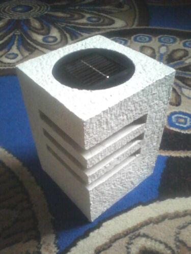 Solar Gartenlampe Streifenform