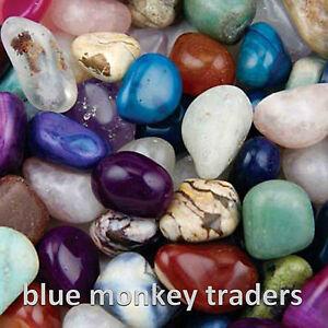 100g, 250g, 500g, 750g,1KG Big Large 20-30 mm Mixed Tumble Stones Wholesale Bulk