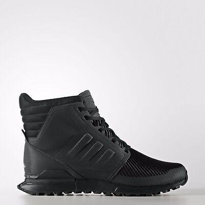Details zu Adidas Porsche Design Shoes Mens Winter Snow Bounce Tech Black Boot Size AQ3561