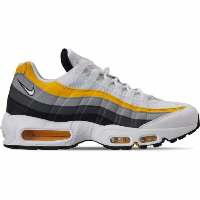 Men's Nike Air Max 95 OG Casual Shoes WhiteAmarilloWolf GreyBlack CD7495 100