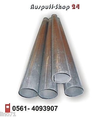 Rohr 50 mm x 995 mm Auspuffanlage Abgasrohr Universal Auspuffrohr Auspuff