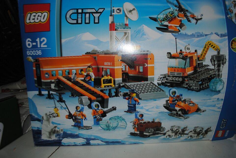 Lego City, 60036+60035+60034+60032