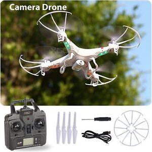 New Camera drone 6-Axis Gyro RC UAV RTF Quadcopter RTF UFO W/ 2.4Ghz X5C-1 RC US