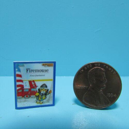 Dollhouse Miniature Replica of Comic Book Firemouse ~ B073
