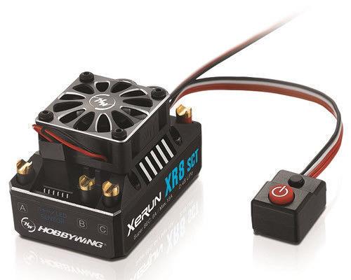Hobbywing XR8 SCT 140A ESC sin Escobillas RC Control de velocidad para 1 10