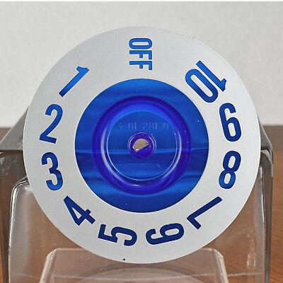 SubZero Refrigerator 550 Replacement Part # 3012810 Control Indicator Dial