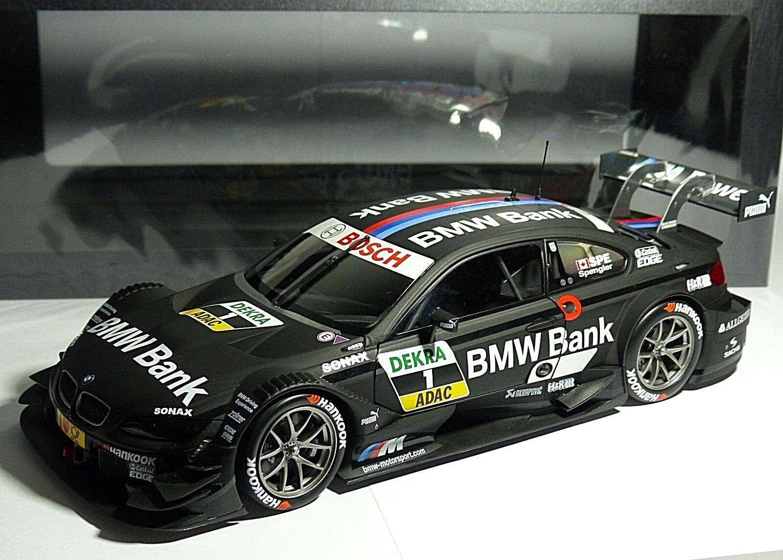 BMW M3 Spengler DTM 2013 Team Schnitzer 1 18 Minichamps 80432327856 Emb.orig