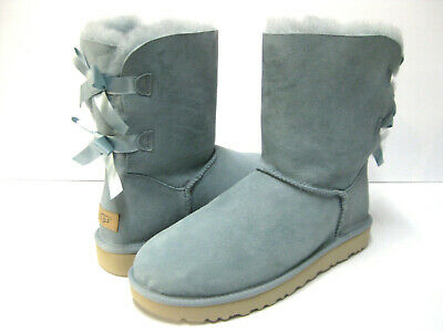 c26224b634a UGG BAILEY BOW II WOMEN SHORT BOOTS SUEDE SUCCULENT US 5 /UK 3 /EU 37 JP 22  | eBay