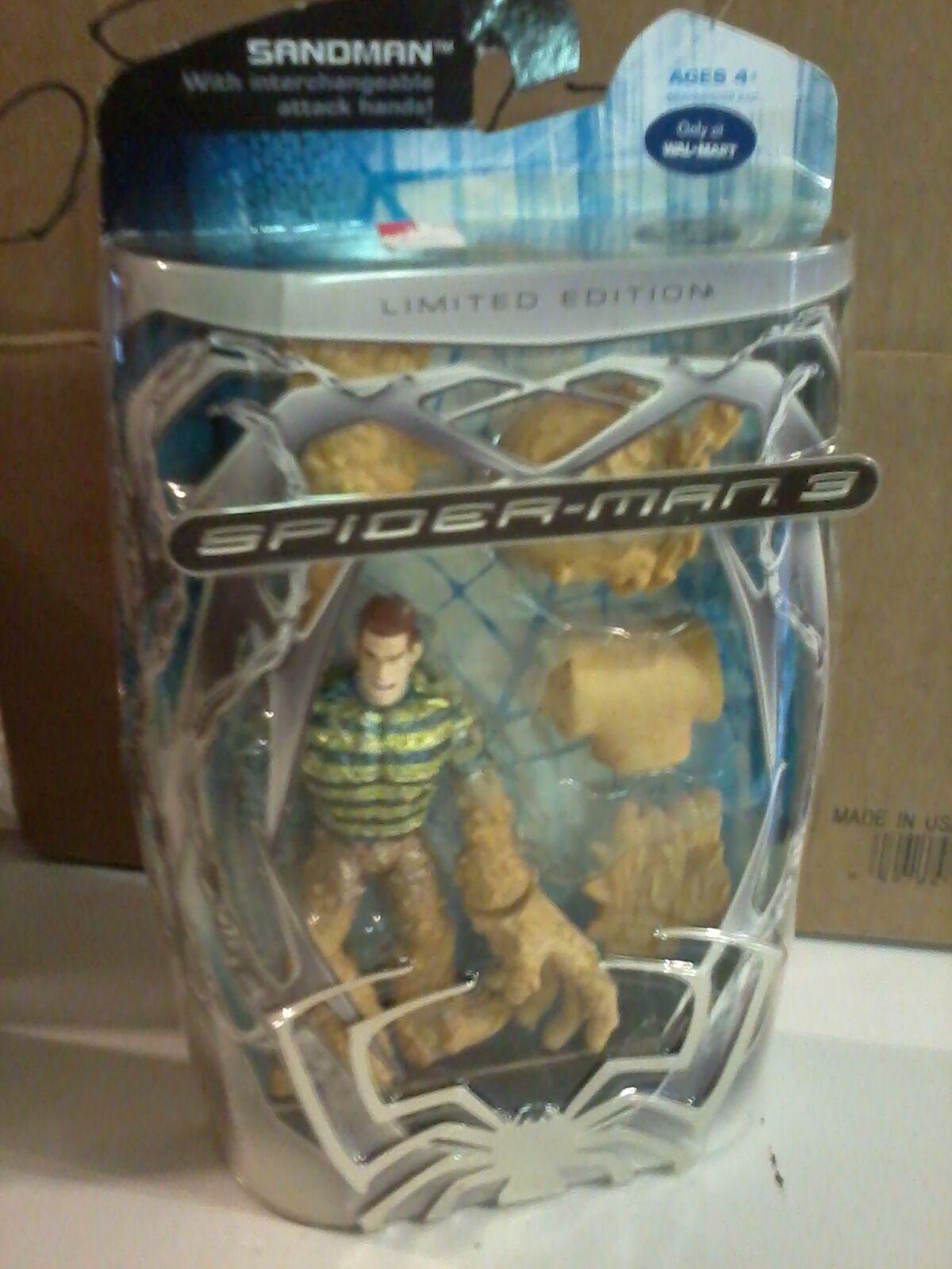 2007 Marvel Walmart Exclusive Spider-Man 3 Sandman Limited Edition Figure (New)