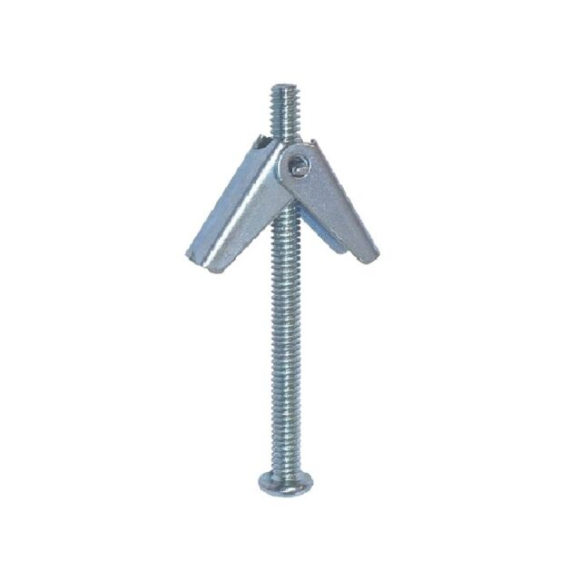 500 x SPRING TOGGLE HOLLOW CAVITY WALL FIXING GRAVITY 50 X 4 X 90MM