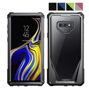 premium selection ec0f4 974a3 Details about Poetic Guardian Scratch Resistant Back Hybrid Bumper Case  Samsung Galaxy Note 9