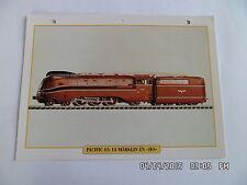 CARTE FICHE TRAIN PACIFIC 03-10 MARKLIN EN HO 1970