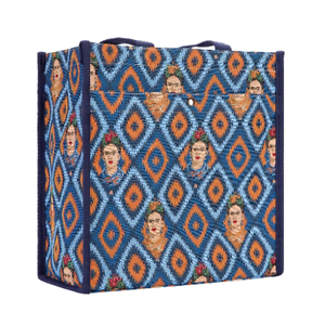 Signare Shopper Frieda Kahlo Icon Gobelin Schultertasche Einkaufsbeutel Tapestry
