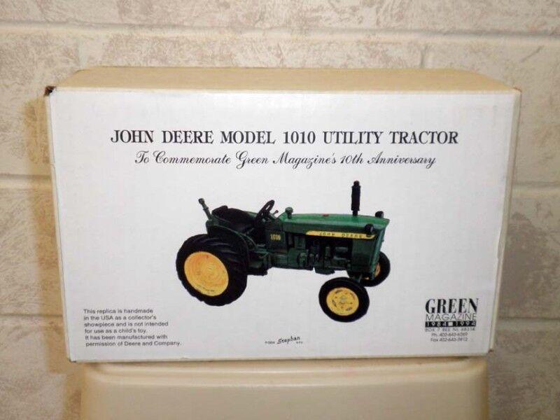 John Deere 1010 utilidad verde Revista Décimo Aniversario