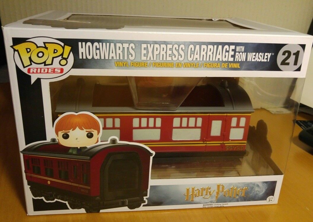 Funko Pop Harry Potter Hogwarts Express Carriage Ron Weasley Pop Rides 21