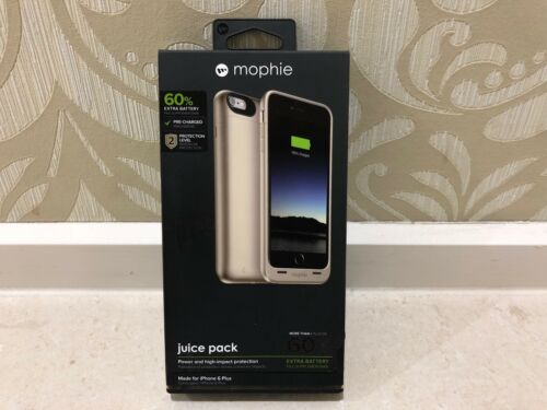 Genuine Mophie 2600mAh Juice Pack Charge Battery Case for iPhone 6 Plus 6S Plus