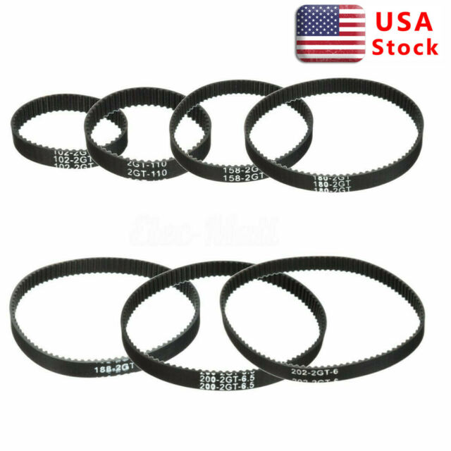 Open End RepRap GT2 Timing Belt 6mm Wide 2mm Pitch 2GT For Pulley 3D Printer*~*