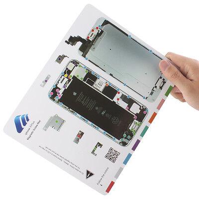 Magnetic Screw Mat for IPhone 6 Plus Repair, Screw Tool Holder Mat Repair Parts