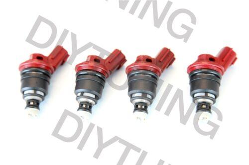 4x OEM Nismo 850CC JECS Fuel InjectorS For NISSAN SR20 DET S13 S14 S15 E85