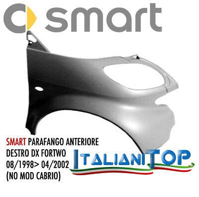 PARAURTI PARAFANGO ANTERIORE ANT DESTRO DX PER SMART 450 98/>02 DAL 1998 AL 2002