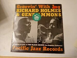 Richard-Holmes-amp-Gene-Ammons-Groovin-039-With-Jug-Vinyl-LP