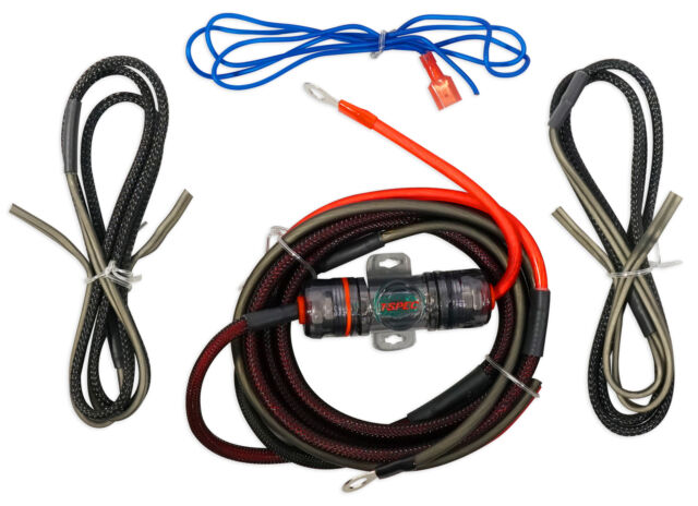 Metra ST-AK10 Motorcycle/ATV/UTV/RZR 10 Gauge OFC Amplifier Amp Install Wire Kit