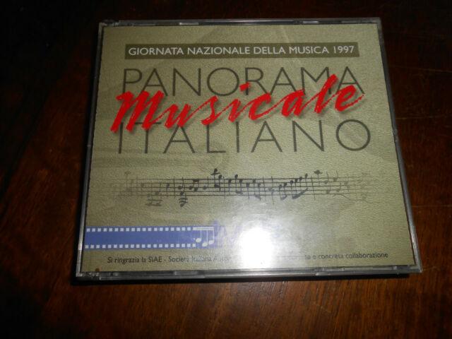 CD AUDIO: -PANORAMA MUSICALE ITALIANO - GIORNATA NAZIONALE DELLA MUSICA1