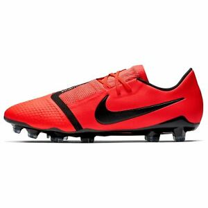 hot sale online 142b1 cdf26 Details about Nike Phantom Venom Pro FG Football Boots Mens Crimson/Black  Soccer Cleats Shoes