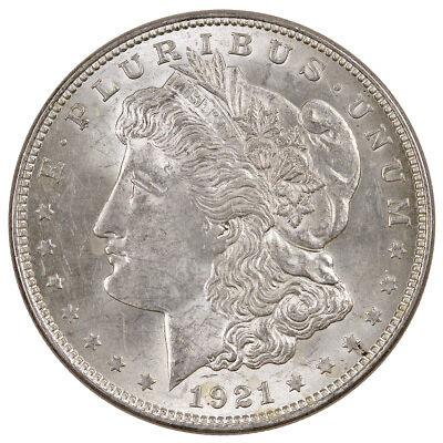 1921 $1 Morgan Silver Dollar BU Uncirculated Coin SKU34803