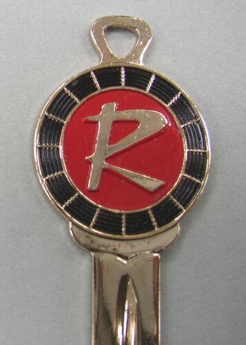 Vintage Rambler R Yellow Gold Classic 3 Piece Set NOS Keys 1950 1951 1952 1953