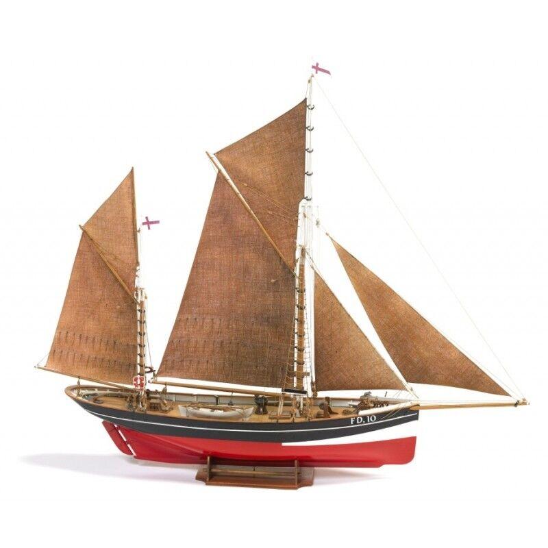 Billing Boats Yawl Fishing Boat FD 10 Model Kit 1 50 Scale New Boxed B701