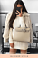 Women-Ladies-Chunky-Cable-Knitted-Polo-Neck-Midi-Jumper-Long-Sleeve-Party-Dress thumbnail 1