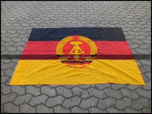 105 X 158 Rare Drapeau DDR Allemagne de l/'Est