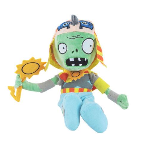 Plants vs Zombies 2 PVZ Figures Plush Baby Staff Toy Stuffed Soft Doll UK