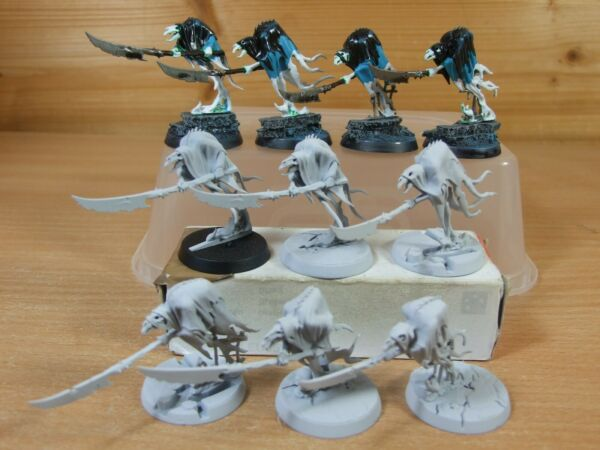 10 Plastica Warhammer Nighthaunt Glaivewraith Stalker Dipinto (686)